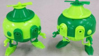DIYロボシリーズ第二弾ふたごのケロボックル組み替え